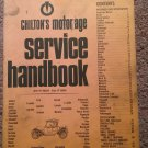 1970 Chilton's Service handbook, 45th Edition, 070716122