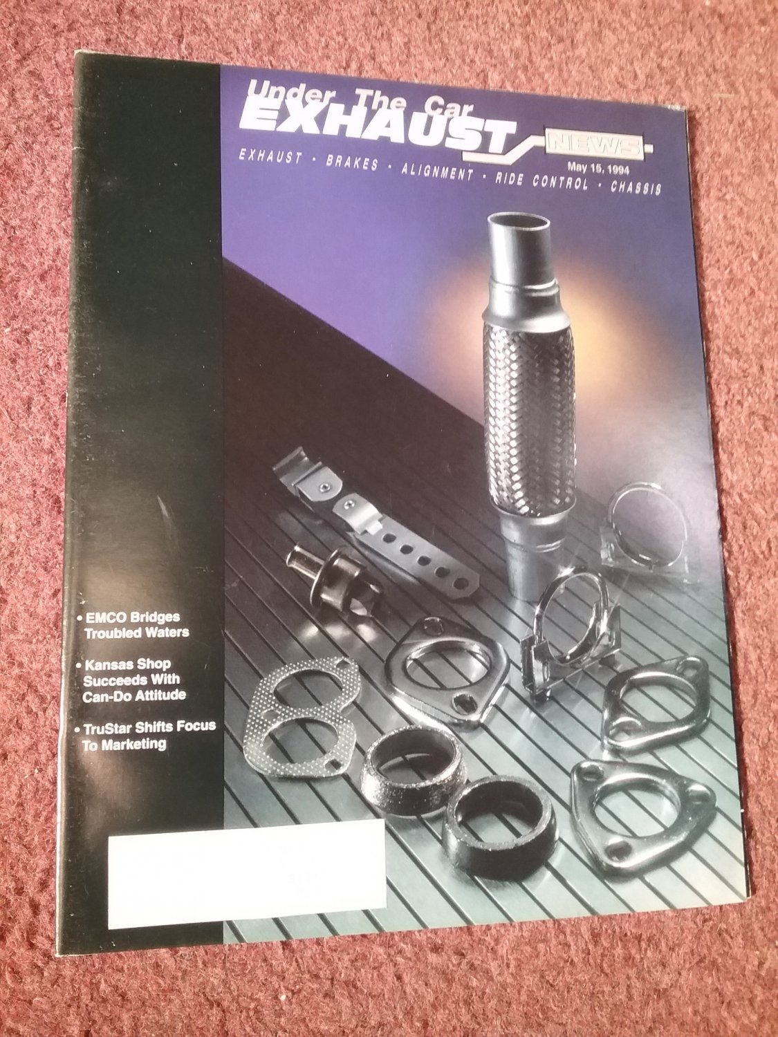 Exhaust News Magazine May 15, 1994 Waiting Area Ideas 070715153