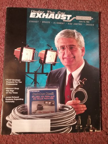 Exhaust News Magazine June 15, 1994 Advertising  070715154