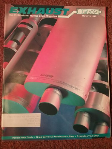 Exhaust News Magazine march 15, 1993 Succeeding with Brakes 070716160