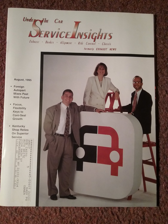 Under the Car Insights Magazine Aug 1995  070716178