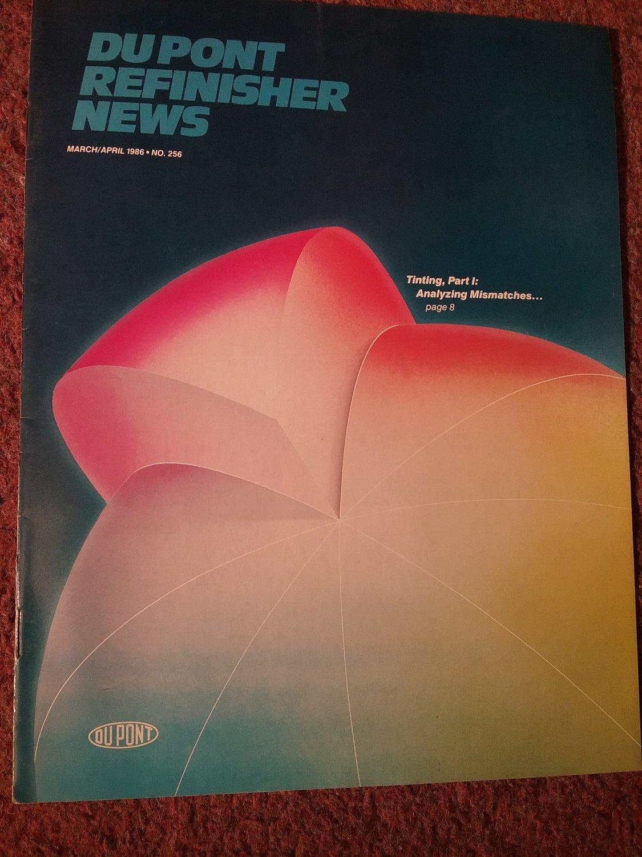 Du pont Refinisher News, March/April 1986  NO 256 Tinting Part 1 070716205