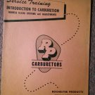 VintageService Training RP Carburetors 1159 Models B & BC 70716231