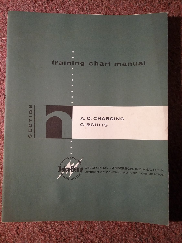 Vintage Delco-Remy Training AC-Charging Units  PUB 5133H 070716275