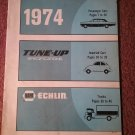 Vintage 1974 Napa Echlin Tune Up Spec Guide  070716268