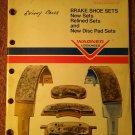 Vintage 1974 Wagner Brake Catalog BU-100 070716264