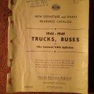 Vintage 1942-1949 New Departure and Hyatt Bearings Catalog 070716239