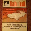 Vintage Technicall Amercian Motors Magazine 1971  070716254