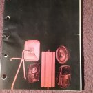Vintage Nov 1971 Napa Lighting and Safety Products Catalog   070716292