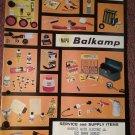 Vintage 1968 Napa Balkamp Service and Supply Catalog  070716289