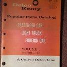 Vintage 1946-1962 Delco Remy Parts Catalog TA-100-1 070716285