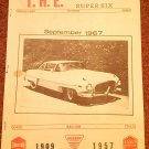 Vintage September. 1967 T.H.E. Greater Super Six Club Hudson Club 070716330