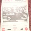 Vintage June 1967 T.H.E. Greater Super Six Club Hudson Club 070716332