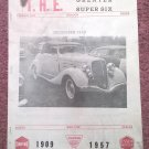 Vintage December 1968 T.H.E. Greater Super Six Club Hudson Club 070716337