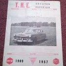 Vintage November 1968 T.H.E. Greater Super Six Club Hudson Club 070716338