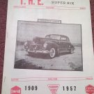 Vintage August 1968 T.H.E. Greater Super Six Club Hudson Club 070716341