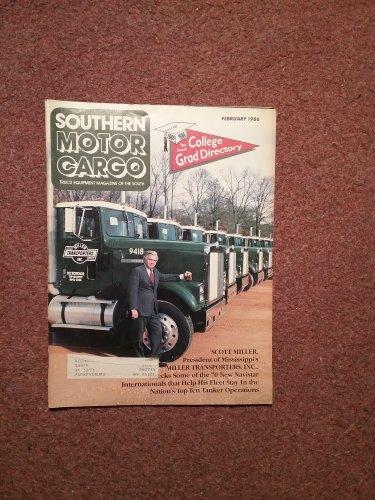 Vintage February 1986 Southern Motor Cargo Magazine, Grad Directory 070716348