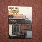 Vintage October 1985 Southern Motor Cargo Magazine  070716352