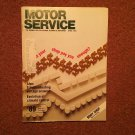 Vintage April 1989 Motor Service Magazine, BODY SHOP 070716354