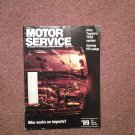 Vintage July 1989 Motor Service Magazine, PFI Snags070716356