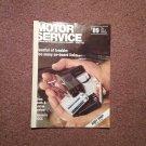 Vintage August 1989 Motor Service Magazine,  On Board Links 070716357
