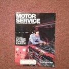 Vintage May 1992 Motor Service Magazine, Electronic Diagnosis: Mazda  070716365