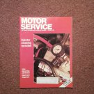 Vintage Oct 1991 Motor Service Magazine, Injector Cleaning 070716377