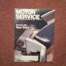 Vintage December 1991 Motor Service Magazine, Rear Discs 070716379