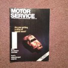 Vintage February 1990 Motor Service Magazine,  02 Sensors 070716381