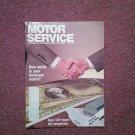 Vintage June 1990 Motor Service Magazine,  A/C Complaints 070716385