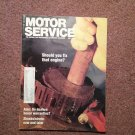 Vintage July 1988 Motor Service Magazine, Servicing Chrysler Injections 070716394