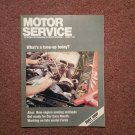 Vintage August 1988 Motor Service Magazine, Engine Sealing Methods 070716395