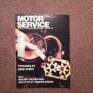 Vintage September 1988 Motor Service Magazine, Diagnostic Programs 070716396