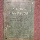 Vintage 1937 Motor's Handbook Specs Interchangable partss 14th Ed  070716412