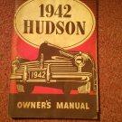 Vintage 1942 Hudson Owners Manual   070716441
