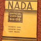 VIntage NADA Offiicial Car Guide Eastern Ed. August 1972 070716473