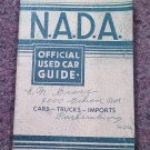 VIntage NADA Offiicial Car Guide Eastern Ed Jan 1973  070716479