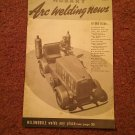 Hobart Arc Welding News Vol V. No. 1 Welded Backdoor Steps 070716544
