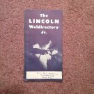 1946 The Lincloln Weldirectory Jr.  Bul 437A  070716542