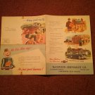 Vintage Piston Ring Ad, Local Parkersburg, WV McClinton's Chevrolet  070716507