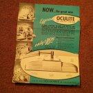 Vintage Oculite Ad  070716504