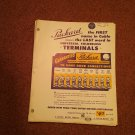 1952 Delco-Remy Popular Parts Catalog  Many Parts 070716603