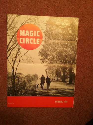 Vintage Magic Circle Magazine, Oct 1953, Perfect Circle Racing  070716569