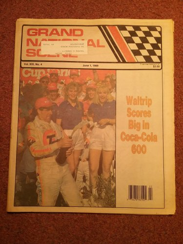 June 1, 1989 Grand National Scene Magazine NASCAR WALTRIP 070716676