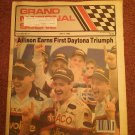 July 6, , 1989 Grand National Scene Magazine NASCAR Allison 070716688