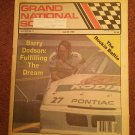 July 20, 1989 Grand National Scene Magazine NASCAR DODSON 070716690