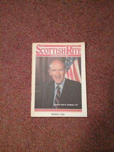 The Scottish Rite Magazine March 1990 Sen. Alan Simpson 070716738