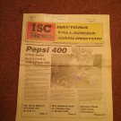 ISC News Vol 3, No 4, May 1989 Pepsi 400  070716749