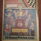 February 9, 1989 Grand National Scene Magazine  NASCAR 89 Preview 070716673