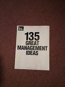 1992 Inc. Magazine, 135 Great Management Ideas, No Ads, All Content 070716652